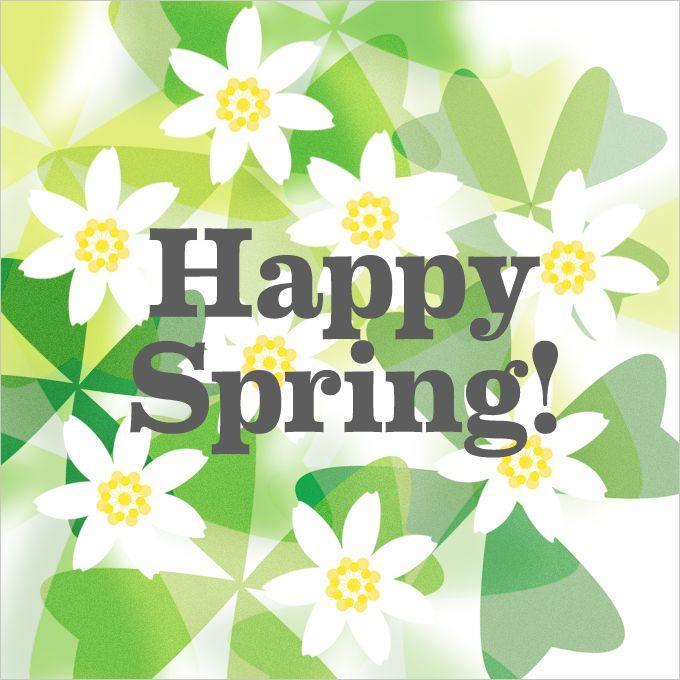 Happy spring Pattern by Spagat.