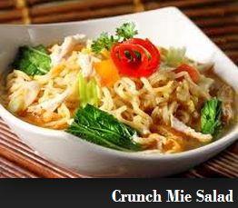 Resep Cara Membuat Crunch Mie Salad Sehat Bergizi http://resep-om.blogspot.com/2014/10/resep-cara-membuat-crunch-mie-salad.html