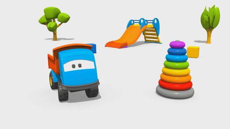Cartoni Animati per Bambini: Leo il Camion Curioso e la Piramide di Anelli