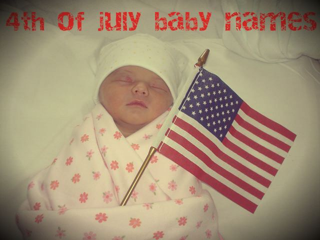 4th of july names