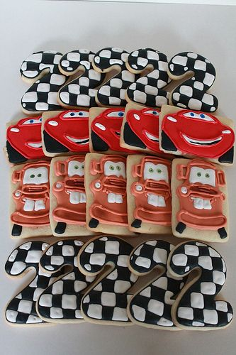 Disney Pixar Cars 2 Cookies