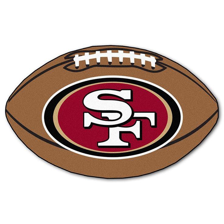 "San Francisco 49ers Nfl ""football"" Floor Mat (22""x35"")"