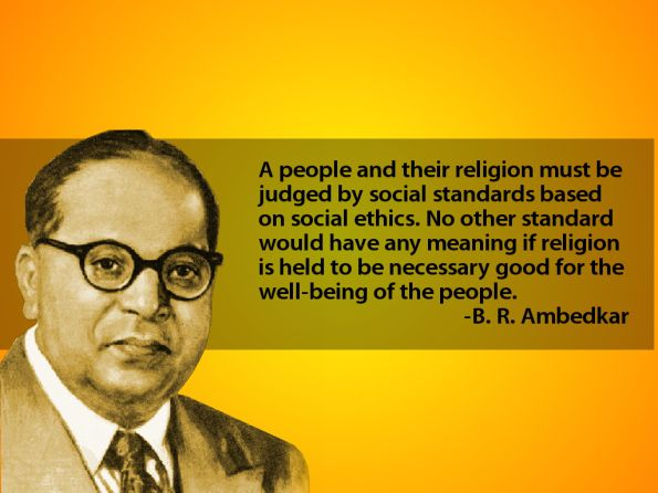 Dr. B. R. Ambedkar on Religion