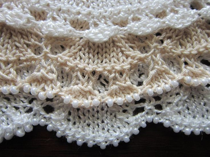 87 Best Knit Edging Images On Pinterest Knit Patterns Knitting
