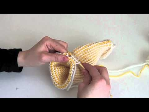 Tunisian Crochet, How To / Tunisialainen Virkkaus - YouTube