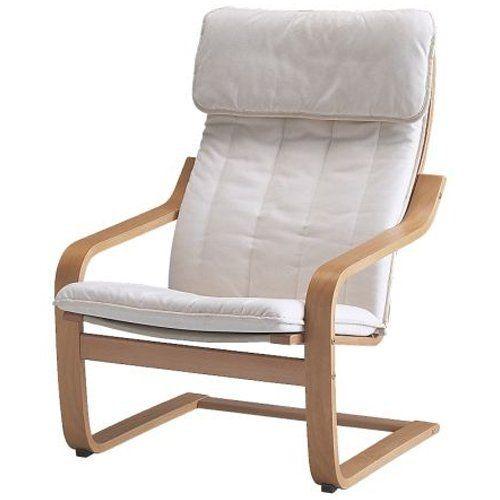 Ikea Unterschrank Ausziehbar ~ Ikea Poang Chair Armchair with Cushion  New Apartment Living Room