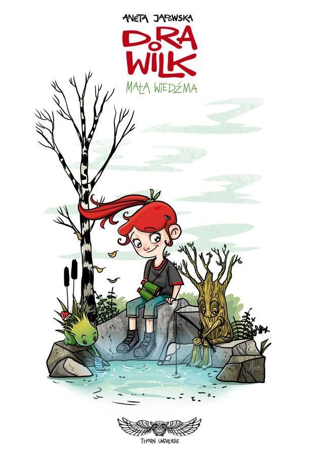 Little Witch by Magda Babińska