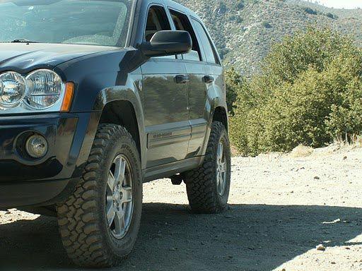 WK Lift kit, Jeep Grand Cherokee, WK 2005, Suspension lift- Scott, Christmas?