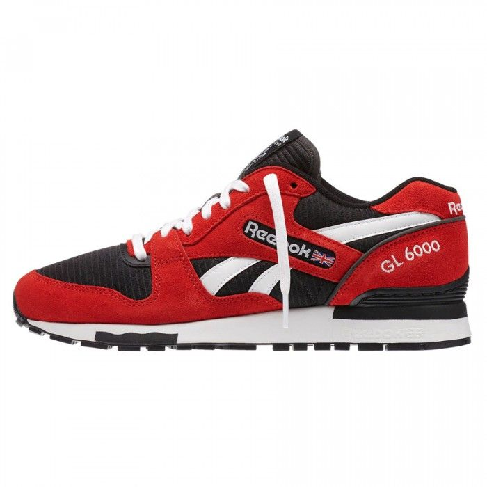 Reebok GL 6000 Red Rush/Black/White