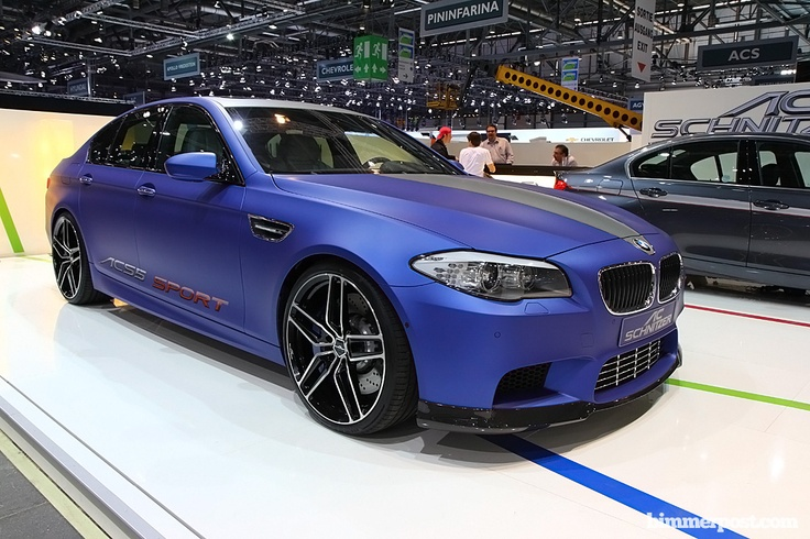 AC Schnitzer 2012 M5(F10) recently debuted at the Geneva Auto Show