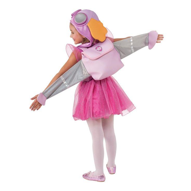 Paw Patrol Skye Toddler/Child Costume | BirthdayExpress.com