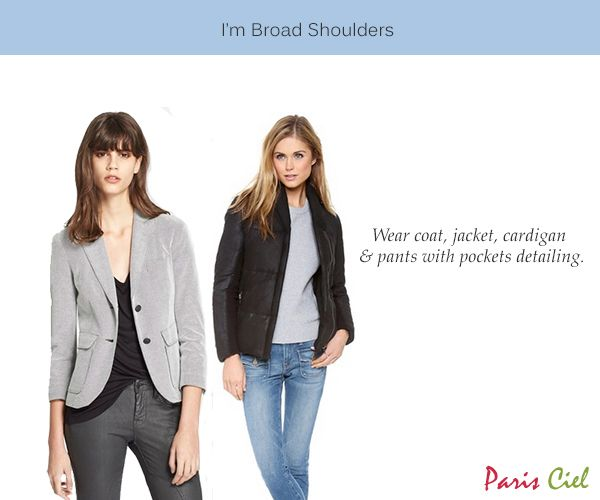 Dress styles to hide broad shoulders and narrow