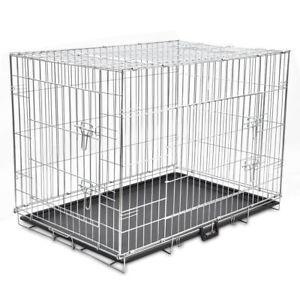 a vidaxl jaula metalica perro plegable transportin transporte viaje mascota xl - Categoria: Casa, jardín y bricolaje  Estado del Producto: Nuevo€ 0,00Price: 72,99 EUR Ver Producto