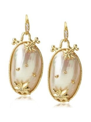 64% OFF Indulgems Starry Sky White Shell Earrings