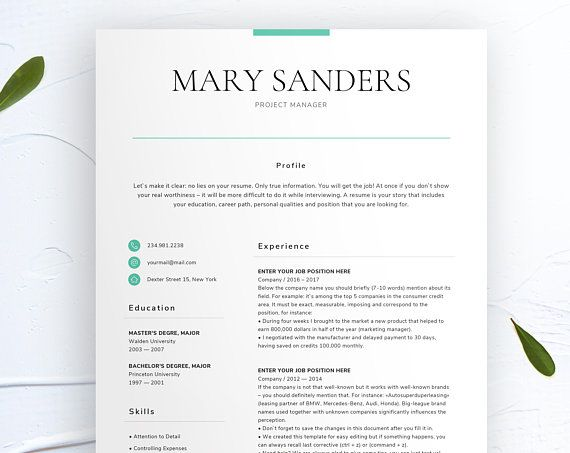 How format references on a resume microsoft word template