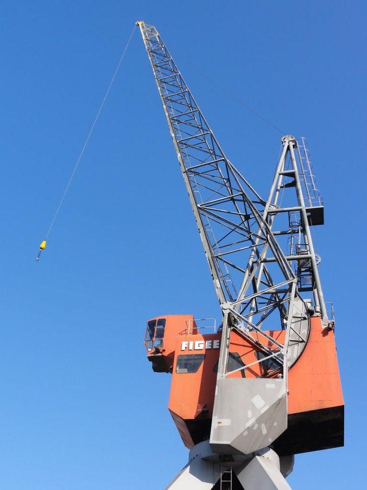 Crane at the Maritime Museum.
