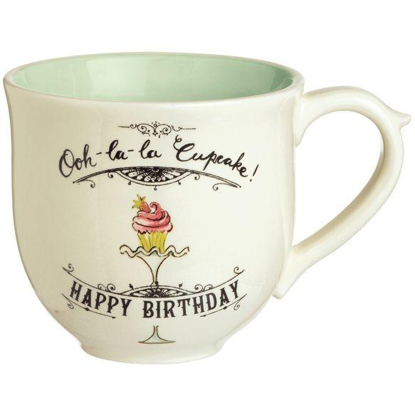 Grasslands road ooh la la birthday mug from elizabeth 39 s for Grasslands road mugs