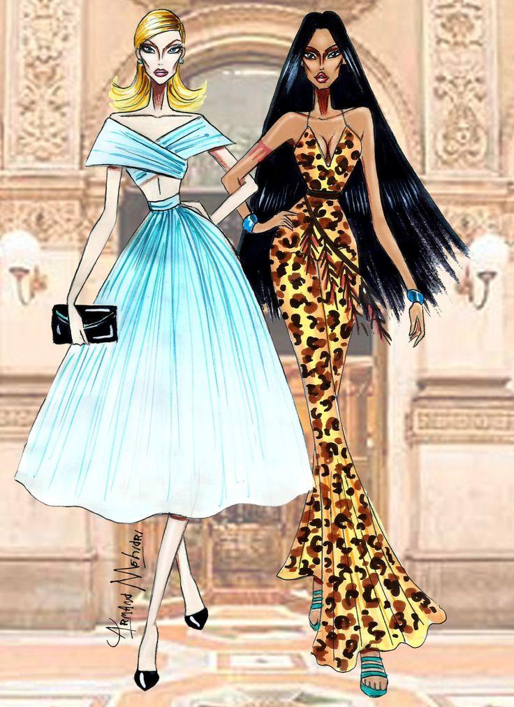 Disney Besties - Cinderella & Pocahontas - by Armand Mehidri