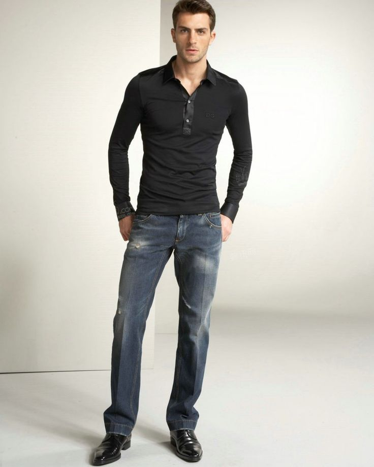 Business Casual Men Jeans | Casual Men Clothes to Groom Your Personality photo