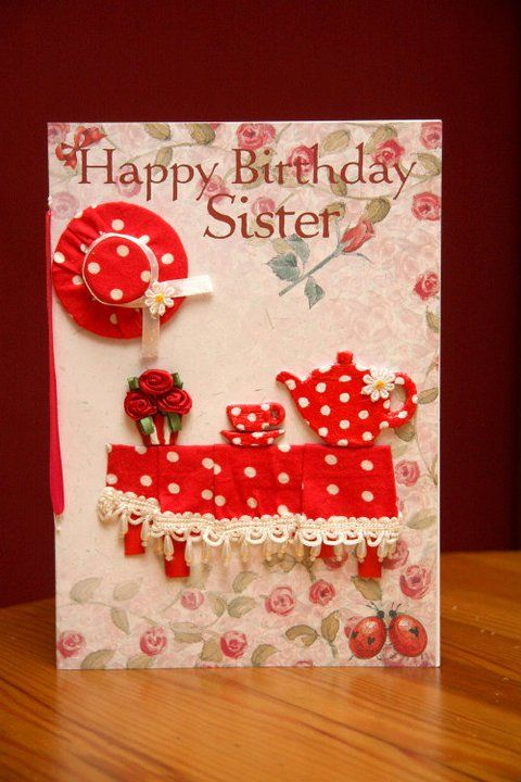 Happy Birthday Sister | GREETING CARDS & TAGS | Pinterest | Happy birthday sister, Birthdays and ...