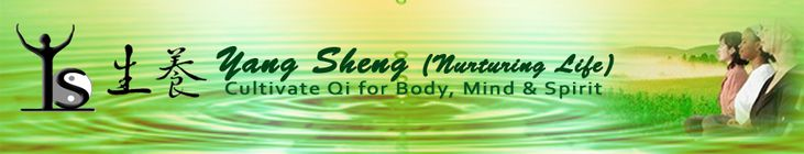 Yang-Sheng Jan/Feb 2013: Some of the article titles: Mind-Body Medicine Research Update, Sinking the Qi, Chinese Wellness Based Health Care System, Balanced and Emotional Flow with Qigong, Health Use of Seaweed, and more.