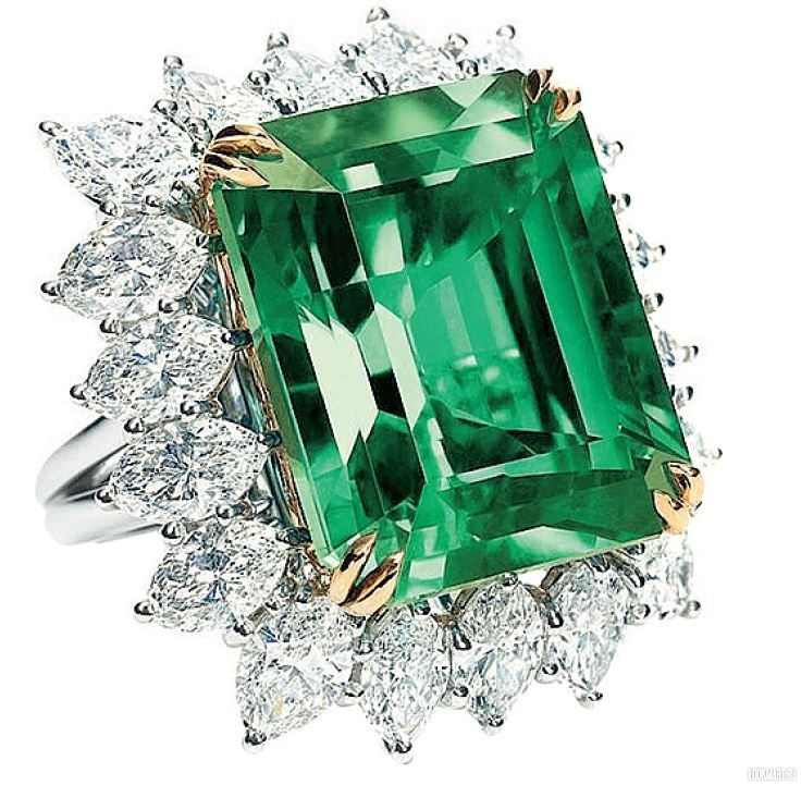 Кольцо с изумрудом, Harry Winston http://chel.lookmart.ru/products/koltso_izumrudom_harry_46916