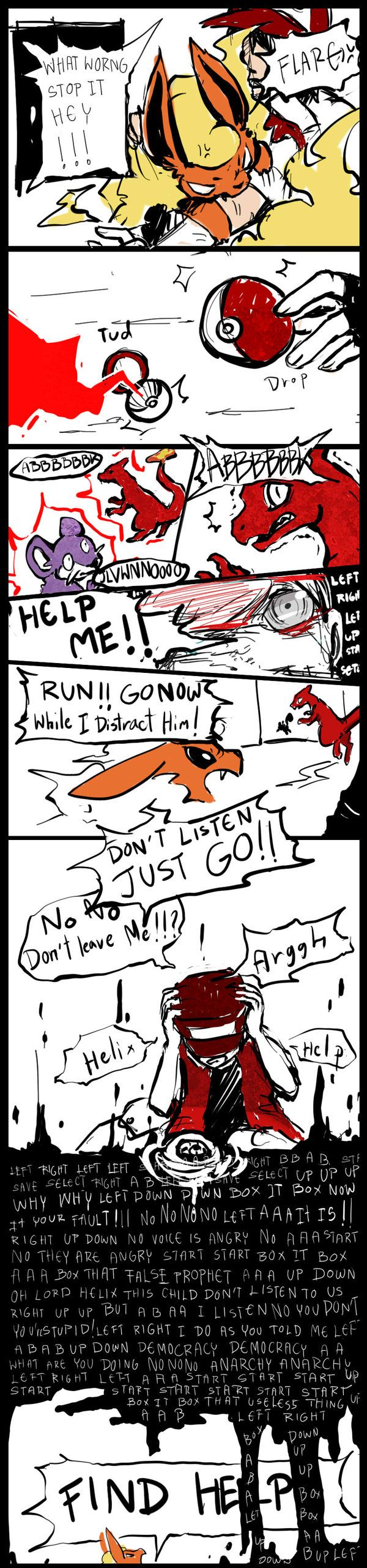 Red Twitch Plays Pokemon by LittleDarkDragon on deviantART