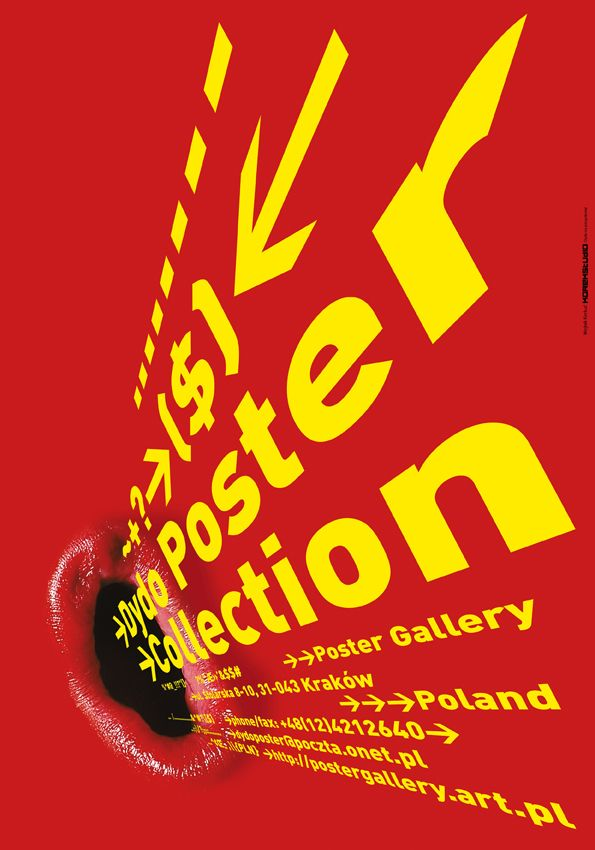Wojciech Korkuć KOREK.  Dydo Poster Collection, 2004