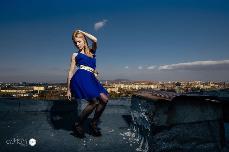 On the roof shoot by Adrian Vaju on 500px