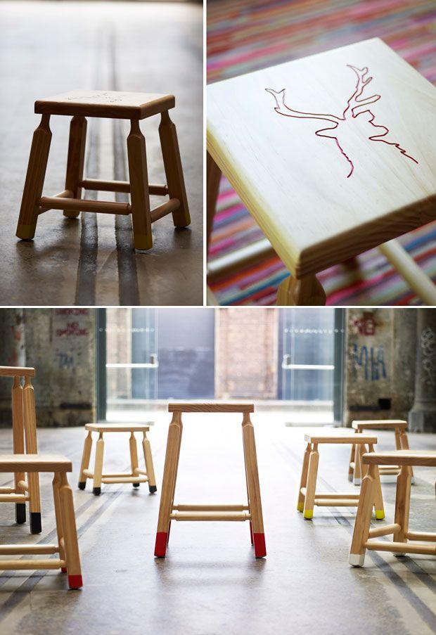 "Koskela ""Studio"" Series. Mika stool: Photos Ideas, Koskela Renovation, Products Photos, Koskela Studios, Reindeer Patterns, Mika Stools, Men Built, Renovation Sales, Koskela Collection"