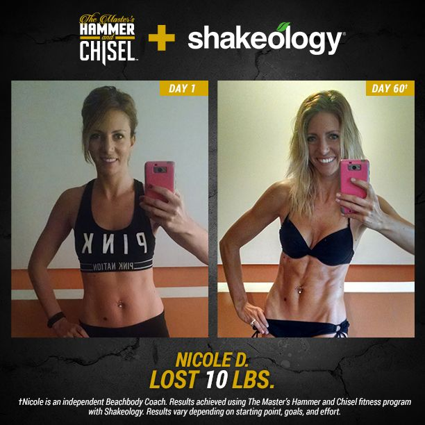 Check out these stories of two people who conquered the Hammer and Chisel and Shakeology and got the results they've always wanted.