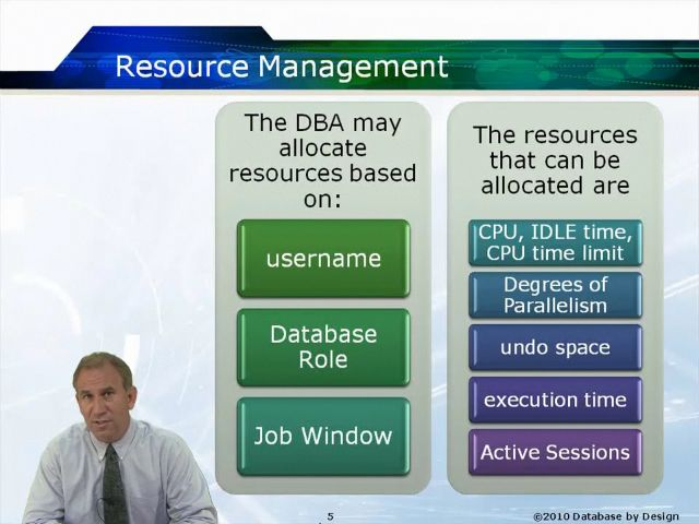 This Oracle online training course explains advanced Oracle database topics. Oracle 10g/11g Database Administration II Part 2 provides an in-depth look into Oracle's advanced memory architecture, database advisors, and job scheduler. This training is designed for the experienced Oracle database administrator.  In order to take this course you need to have taken Oracle 10g/11g Database Administration I Part1 and Part 2, Oracle 10g/11g: Introduction to SQL, Oracle 10/11g: Advanced SQL, Oracle…