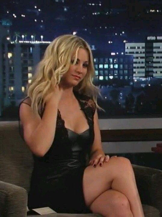 Kaley cuoco on knees ass up nude