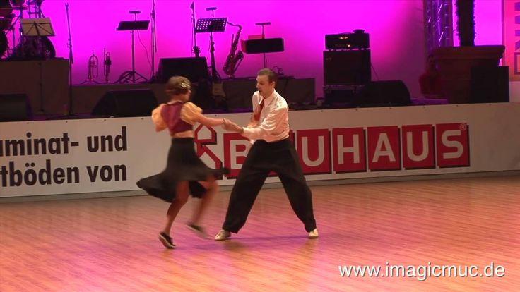 Lindy Hop - Frida Segerdahl & Sakarias Larsson - Euro Dance Festival 2009
