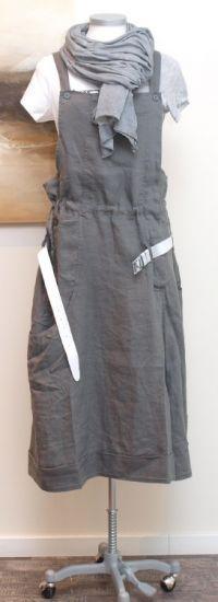 rundholz black label - Trägerrock Hose Leinen shark - Sommer 2014 - stilecht - mode für frauen mit format...