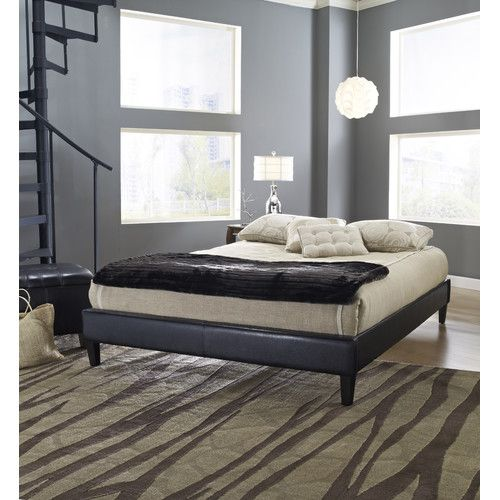 found it at wayfair upholstered platform bed