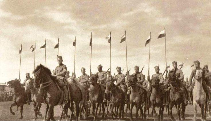 Czech legion cavalry in  Siberia 1919