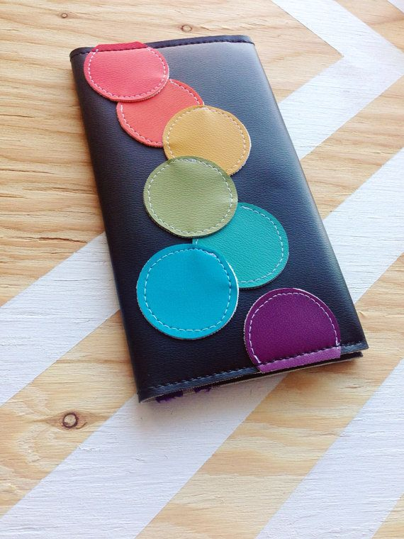 Rainbow Bubbles Travel wallet  by MajestyIndustries on Etsy, $40.00
