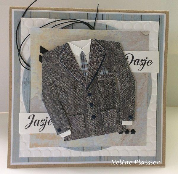 Een mannenkaart blijft altijd een beetje lastig, maar met de nieuwe colletable men's wardrobe wordt het ons wel heel makkelijk gemaakt:) ...