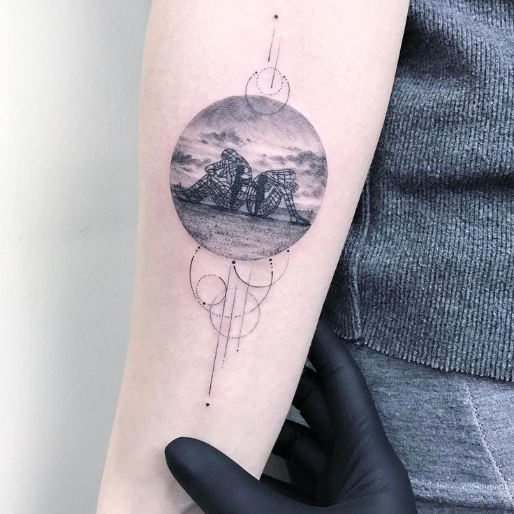 Best American Tattoo Artists Images On Pinterest American - Thought provoking burning man sculpture shows inner children trapped inside adult bodies
