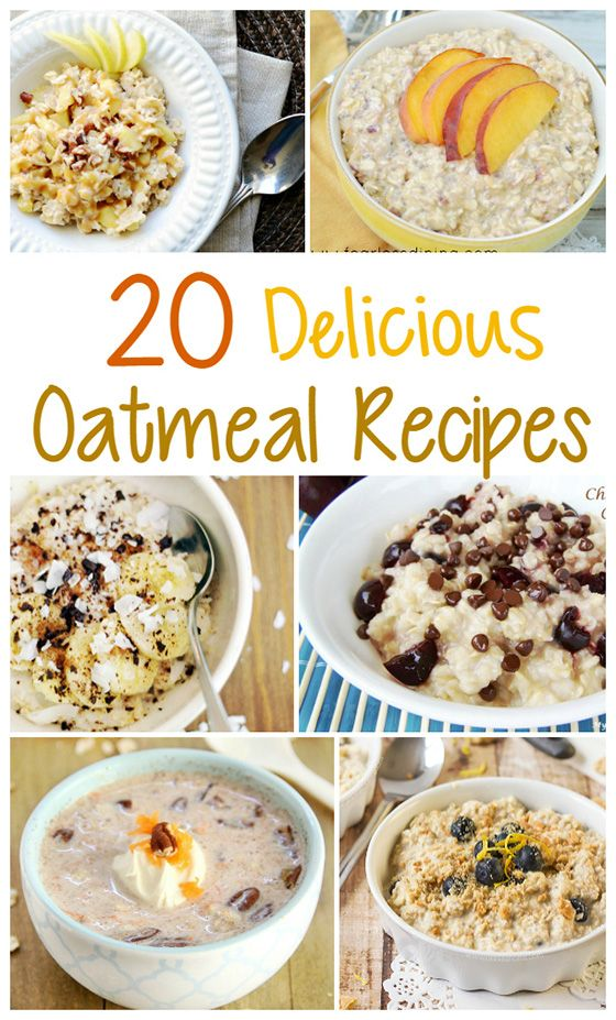 Need some breakfast inspiration? Check out these 20 delicious oatmeal recipes!