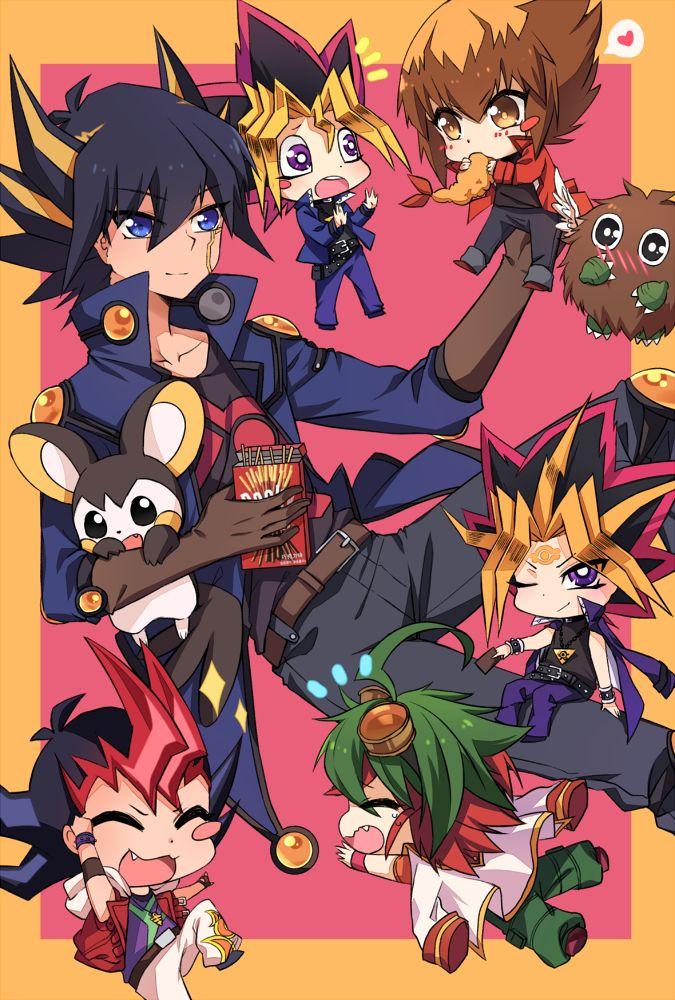 poppy (Pixiv3596054), Yu-Gi-Oh!, Yu-Gi-Oh! GX, Yu-Gi-Oh! 5D's, Yu-Gi-Oh! ZEXAL, Pokémon