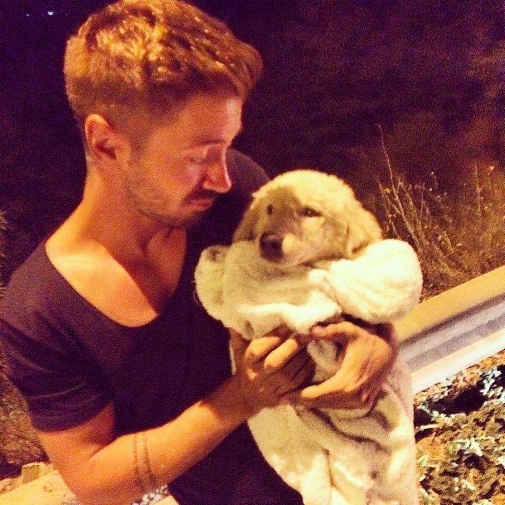 Ο Νίκος Γκάνος βρήκε ένα αδέσποτο στο δρόμο, και ζητάει τη βοήθεια όλων! #greekmusic