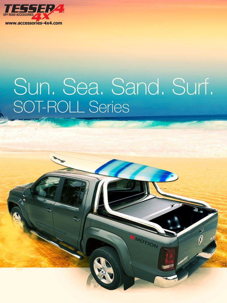 #VW #AMAROK #aluminum #roller #lid #shutter #sotroll #series #by #tessera4x4 #accessories #combined with #oemvwrollbar #sun #sea #sand #surf #motion #v6 #3lt #nolimits #enjoy. Only at 4x4 accessories (GI ANSO 4X4 CLUB Ltd)