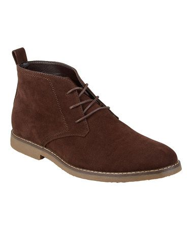 This Brown Chukka Boot is perfect! #zulilyfinds