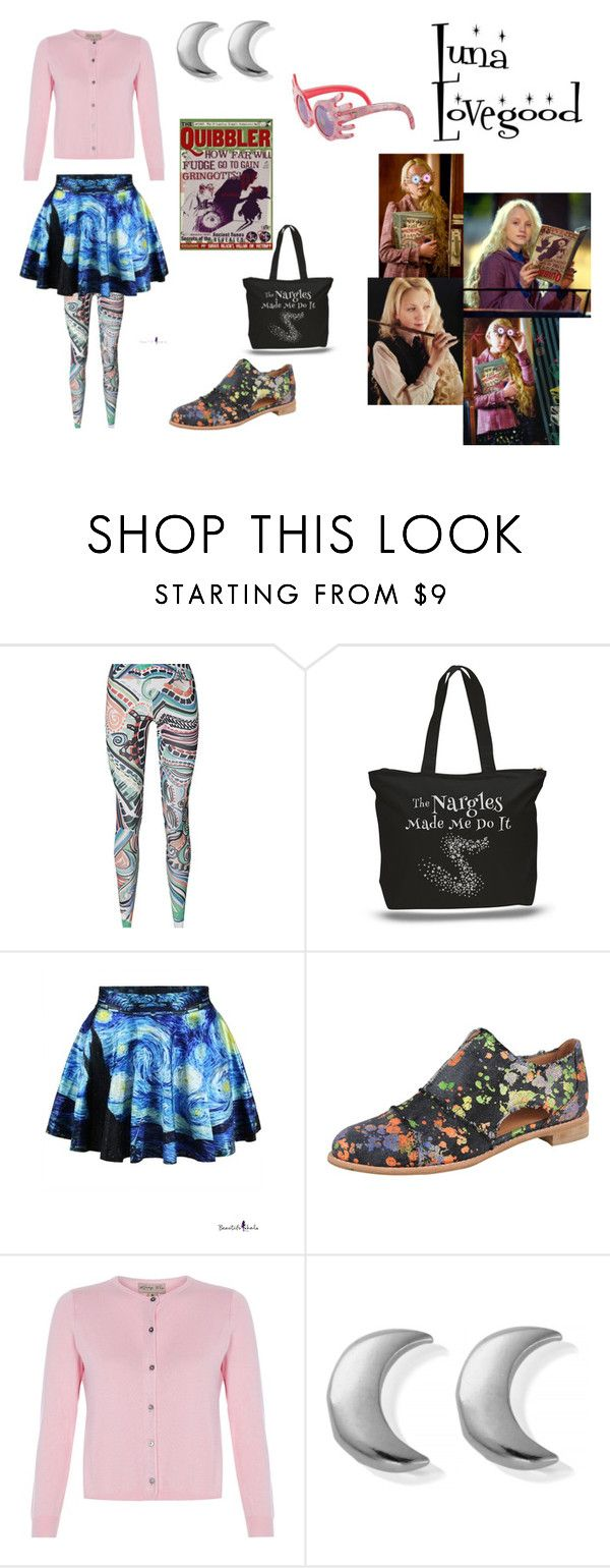 """Luna Lovegood"" by oceanlover1928 ❤ liked on Polyvore featuring All Black, ChloBo and Luna"