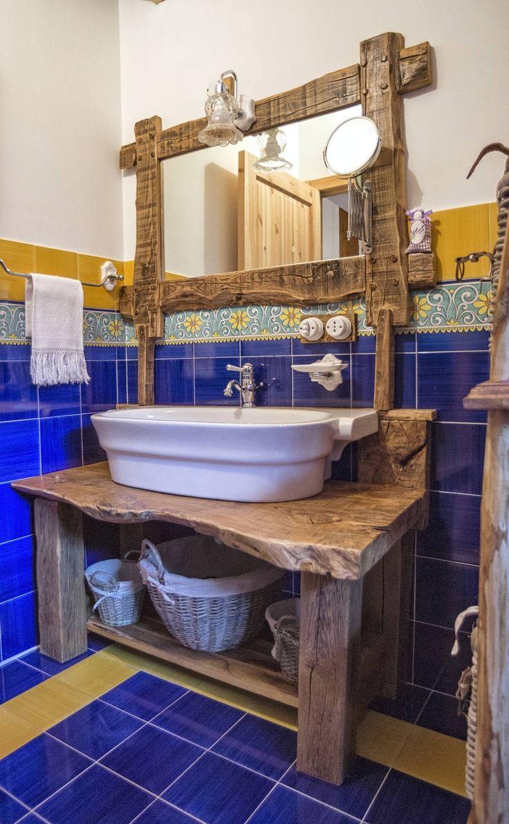 As 25 melhores ideias de Lavabo rústico no Pinterest  Lavabo rustico, Decoração de casas de ...