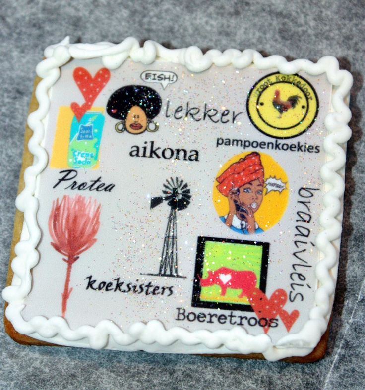 Freedom Day Cookies South Africa, Afrikaans, edible images
