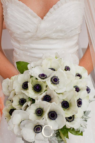 #anemones #bouquets (Enchanted Florist) #weddings
