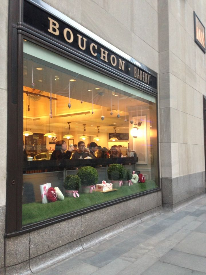 Bouchon Bakery in New York, NY - try - macarons, croissants, kouign amann, chocolate bouchon, bouchon oh-oh